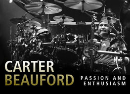 Carter Beauford: passion & enthusiasm