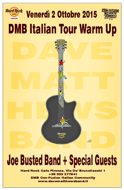 DMB Italian Tour Warm Up il 2 ottobre a Firenze!
