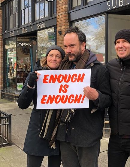 Dave Matthews al March For Our Lives di Seattle